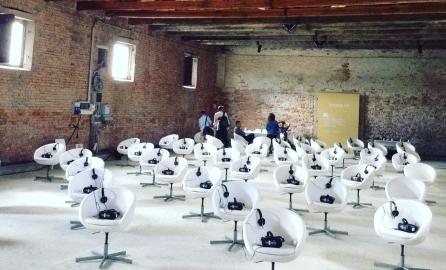 VR theatre alla Biennale di Venezia